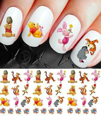 Disney Nail Decals Stickers Winnie The Pooh and Friends NAIL ART set 265