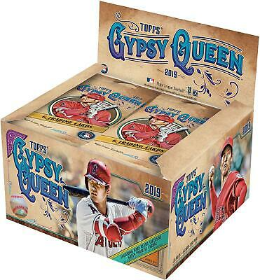 2019 Topps Gypsy Queen Baseball Factory Sealed 24 Pack Box