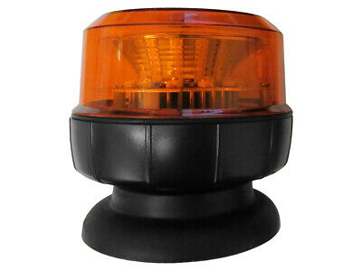 Compact Amber LED Beacon (12-24V ) Magnetic