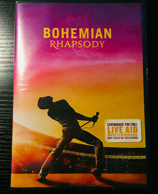 Bohemian Rhapsody (DVD, 2019) BRAND NEW - FREE SHIPPING TO THE US!!!