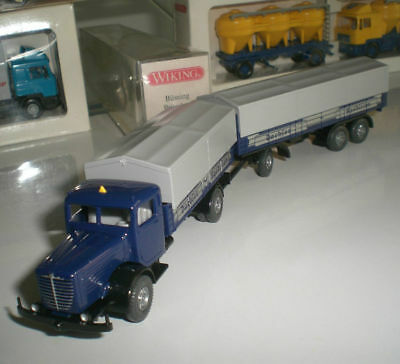 Model Building Florida Boy Trailer Truck Mercedes Imu 1:87 H0 Lf4 Å In Short Supply