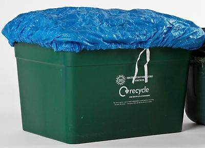 Recycling box ONE BLUE Cover ****FACTORY SECONDS*** PRICED TO CLEAR***