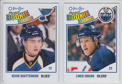2010-11 O-Pee-Chee Marquee Update Rookie Rc Opc From 601-620 Finish Set You Pick