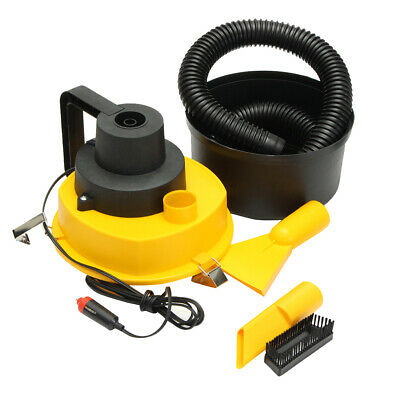 12V Wet Dry Mini Vacuum Cleaner Inflator Portable  Hand Held Car Home