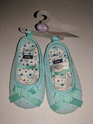 9-12M $20 NEW CARTER/'S BABY TODDLER GIRL CRIB SHOES NAVY HEARTS SIZES 6-9M