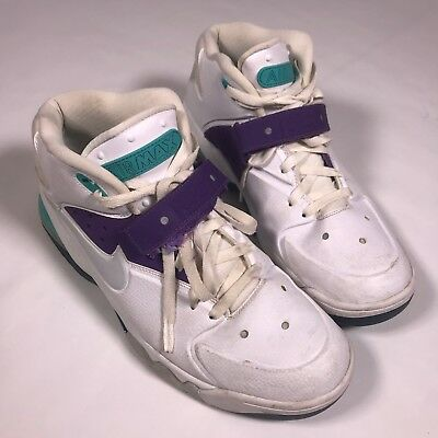 Nike Air Force Max Ultraviolet - 555105-101 (Size 13) Hornets Robinson. e227bbd1b