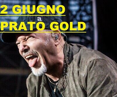 2 Prato Gold Vasco Rossi San Siro Milano 02-06-19 Sold Out
