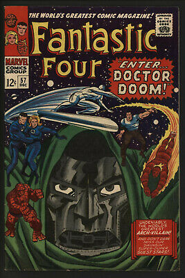 Fantastic Four 57. Glossy Cover, Off White/ White Pages.