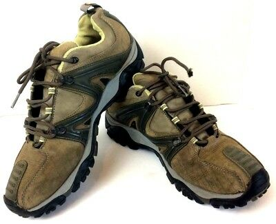 f28193a30768 Merrell Continuum Vibram Reactor Brown Tan Hiking Shoes Mens Size 11.5