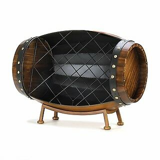 Cask Wine Bottle Rack perfect complement to your bar, dining room holder new.
