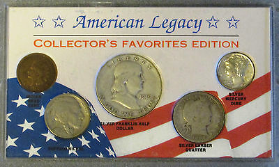 American Legacy Collector's Favorite Edition 5 Coin Set