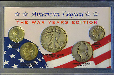 American Legacy The War Years Edition 5 Coin Set  s18 (**Price REDUCED!**)