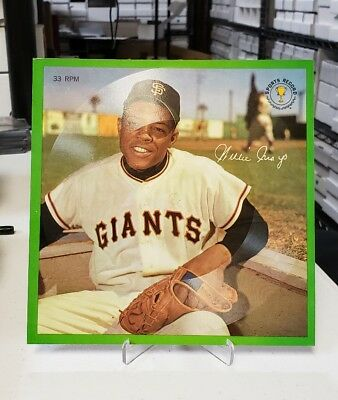 1964 Auravision Records #12 Willie Mays Sp Kcc