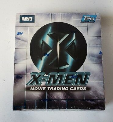 TOPPS 2000 X-MEN MOVIE TRADING CARDS FACTORY SEALED 24 PACK BOX Marvel Comics