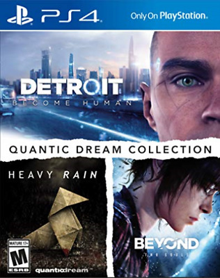Ps4 Miscellaneous-Quantic Dream Collection (Detroit Become Human/heavy R Ps4 New