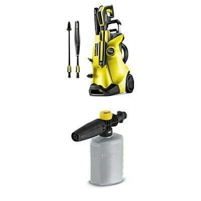 Karcher K4 Full Control Pressure Washer With Foam Jet Nozzle - Yellow/Black