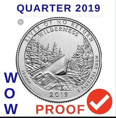 2019-S Proof Church River Of No Return Wilderness In Idaho !!!