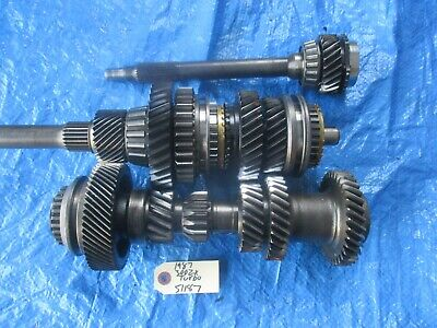 1986 Nissan 300ZX turbo manual transmission gear set T5 Borg Warner OEM