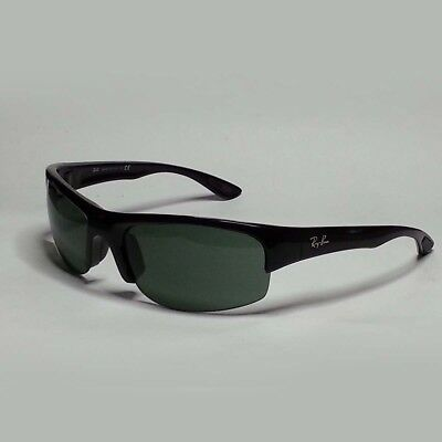 927356178db RAY-BAN RB4173 SPORT Men Sunglasses Black Wrap Made in Italy ...