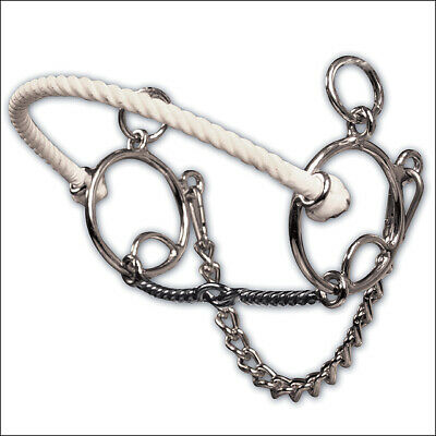 C--113 Professional Choice Brittany Pozzi Lifter Series Twisted Wire Horse Snaff