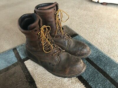 d5497854e31 RED WING STEEL Toe Logger Boots Size 13D