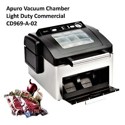 Vacuum Food Bagger Apuro Sous Vide Light Duty Commercial CD969-A-02