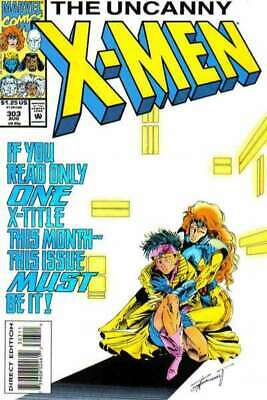 Uncanny X-Men (1981 series) #303 in Near Mint condition. Marvel comics [*5j]