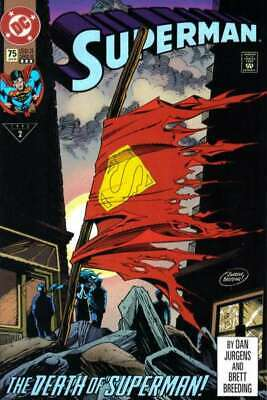 Superman (1987 series) #75 3rd printing in VF + condition. DC comics [*xt]