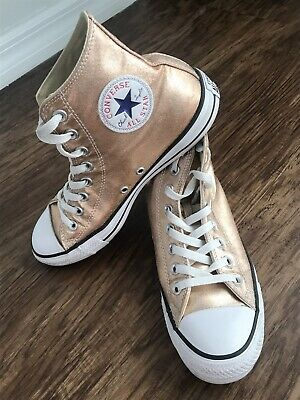 645b24d01 ROSEGOLD HIGH TOP Leather Boots Laced and Zip Closure Black size 36 ...