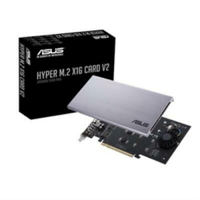 Asus 226819 Accessory Hyper M.2 X16 Card V2 Nvme M.2 128gbps Pcie Retail