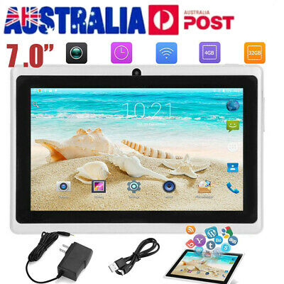 7'' inch Google- Android 4.4 WiFi Tablet PC Quad Core 4GB Dual Camera Kids Child