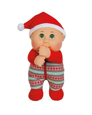"Cabbage Patch Kids Cuties Doll 9"" Holiday Helpers Collection - Berry Holiday #73"