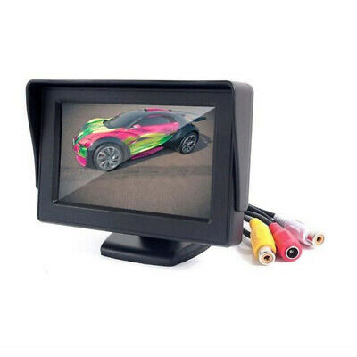 "4.3"" TFT LCD Color Monitor Car Rearview Rear View Monitor Reverse Backup Camera"