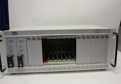 Pickering PXI 40-914-001 14 slot mainframe Rack  National Instruments 3