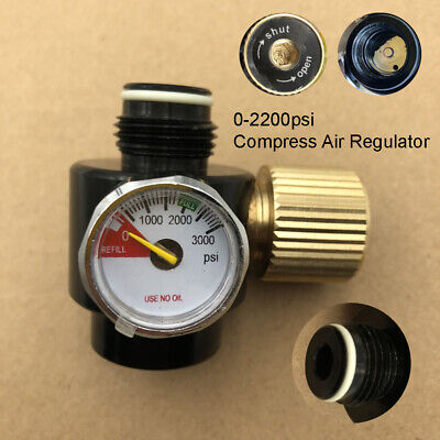 CO2 Gas Bottle Regulator Air Regulator Output Pressure 0-2200psi Adjustable
