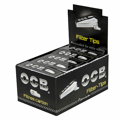 OCB FILTER TIPS perforiert, Heftchen a 50 Tips !! TOP PREIS !!