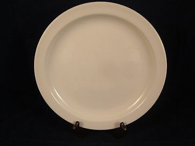 "WEDGWOOD MIDWINTER Stonehenge White 10.5"" Dinner Plate with Spots"