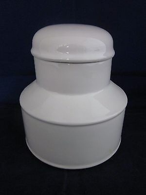 WEDGWOOD MIDWINTER Stonehenge White Sugar with Lid ~ EXCELLENT