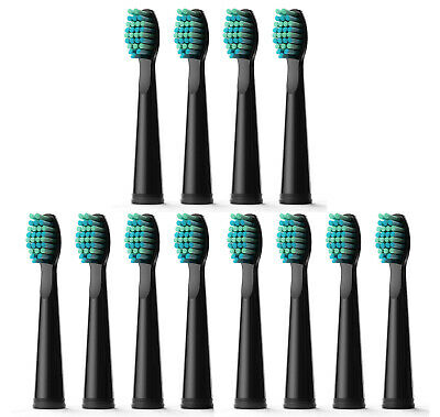 12x Fairywill Electric Toothbrush Replacement Heads for FW507 508 659 917 Series