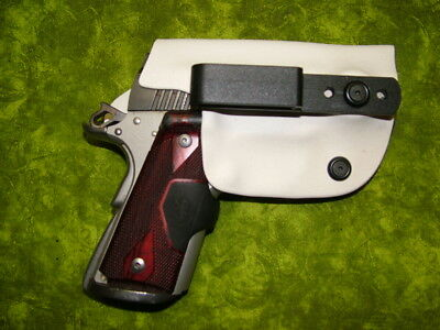 Look!!! Super Nice Left Iwb White Kydex Holster Hand Made Fitted