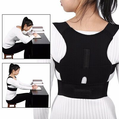 AU Posture Corrector Support Back Shoulder Brace Belt For Men Women Adult Child