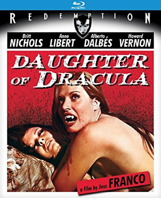 DAUGHTER OF DRACULA (1972)-DAUGHTER OF DRACULA (1972) Blu-Ray NEW