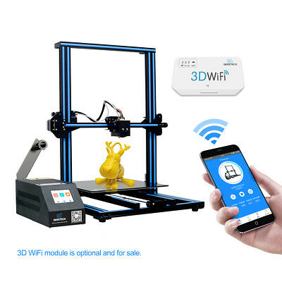 Geeetech A30 3D Printer Higher precision full-color touch screem  For UK