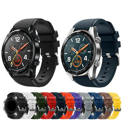 For Huawei GT Watch Band Replacement Silicon Wristband Bracelet Strap