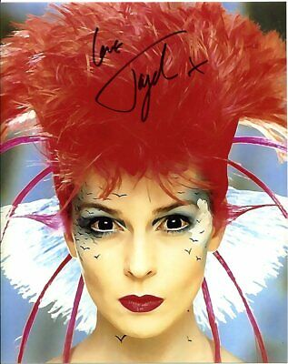 Toyah Willcox In Person Signed Photograph W2