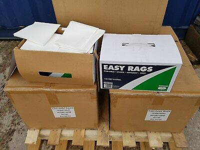 Joblot 20 Boxes Of Cloth Rags Dry Easy Rags (150 Cloths Per Box)
