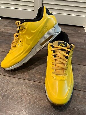 online retailer dca04 0a3df NIKE AIR MAX 90 VT2 MENS 11.5 831114-700 VARSITY MAZE Yellow White Black.