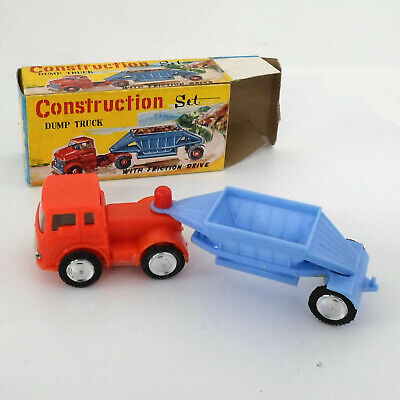 alter Dump Truck mit Friktion-Antrieb in OVP, Konstruktion Set, Nr. 1006