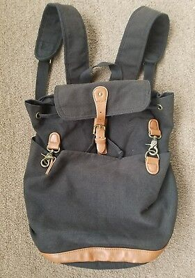 Madden girl backpack Steve Madden black with brown accents 9632986003549