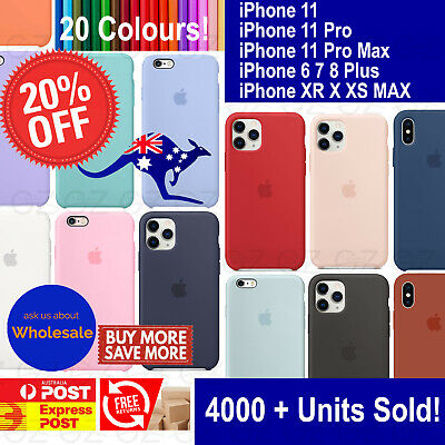 For iPhone XSMAX X XR 7 8 Plus Luxury Shockproof Silicone Case Slim Rubber Cover
